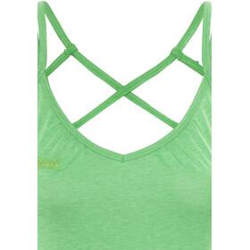 Bergans Cecilie - Camisa sin mangas Mujer - verde